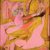 Playing with Paint – Inspirations from Modernism – Class 3 – Willem De Kooning