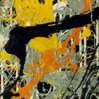 Playing with Paint – Inspirations from Modernism – Class 2 – Jackson Pollock