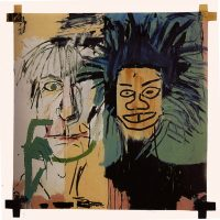 Playing with Paint – Class 1 – Jean Michel Basquiat