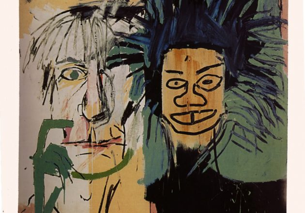 Playing with Paint – Class 1 – Jean-Michel Basquiat - The Quarry Arts Centre