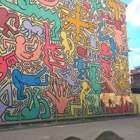 Playing with Paint – Inspirations from Modernism – Class 5 – Keith Haring
