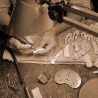 Summer Do: Bone carving, mould making & silver