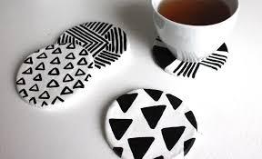Make Your Own Series – Set of 4 Ceramic Coasters - The Quarry Arts Centre