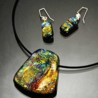 Dichroic Glass Jewellery Making