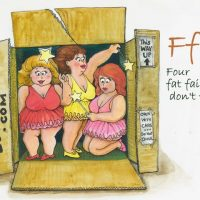 A Fat Cat and Four Fat Fairies – Book launch and Sheryl O'Gorman illustrations