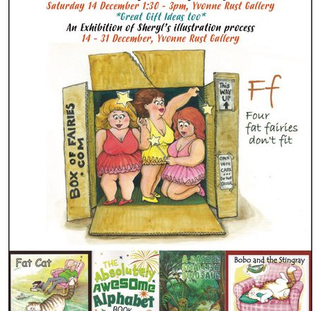 A Fat Cat and Four Fat Fairies – Book launch and Sheryl O'Gorman illustrations - The Quarry Arts Centre