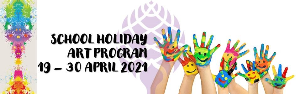 School Holiday Program 19 - 30 April 2021