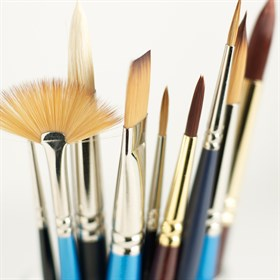Paint Brushes and Knives
